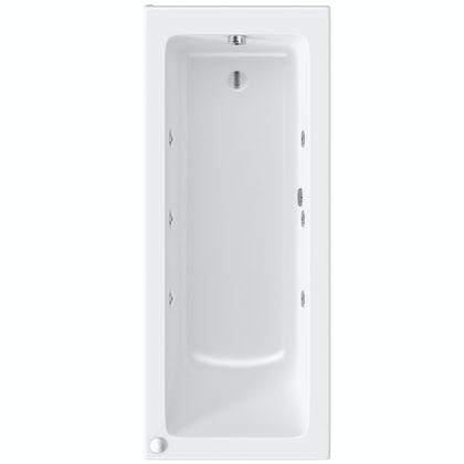 Mode Kensington single end 6 jet whirlpool bath 1700 x 700