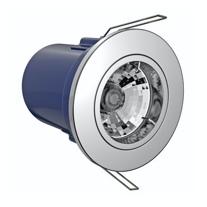 Forum fixed fire rated bathroom downlight in chrome
