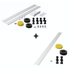 Riser kit for rectangle and square stone shower trays 1400mm and over