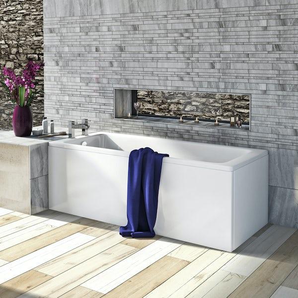 Kaldewei Eurowa straight steel bath 1700 x 700