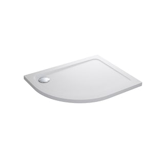 Mira Flight Safe low level anti-slip right handed quadrant shower tray 1200 x 900
