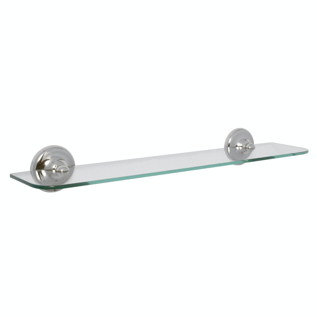 Croydex Grosvenor chrome glass shelf