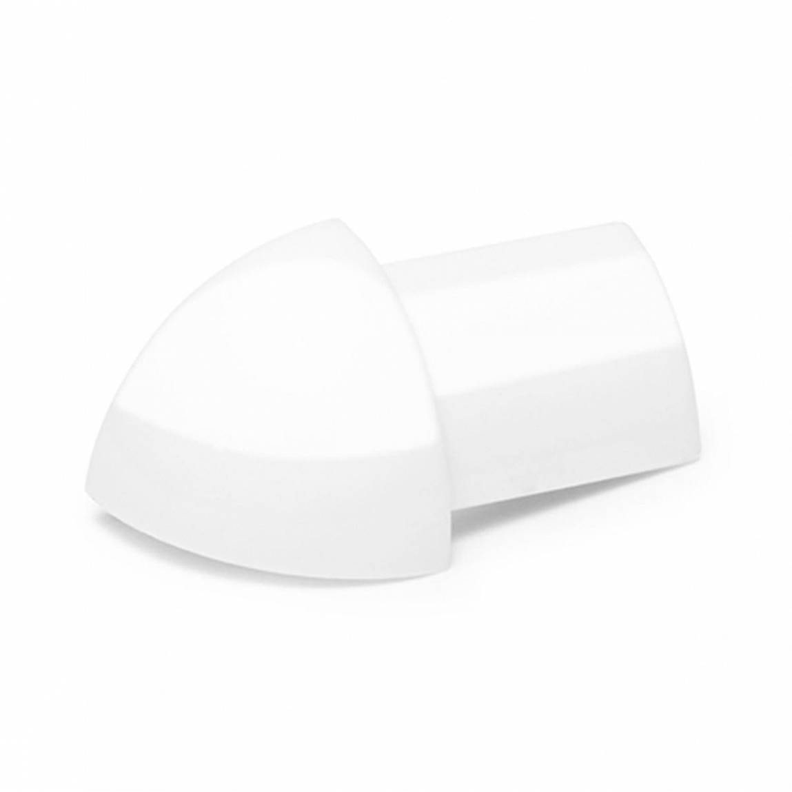 PVC Super Gloss White Tile Trim Corners (Pack of 2)