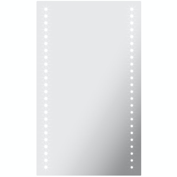 Mode Strutt battery operated LED mirror 500 x 390mm
