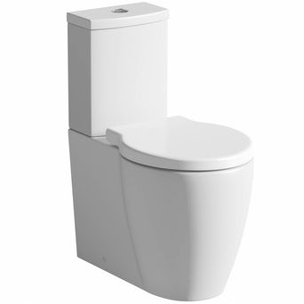 Maine Close Coupled Toilet inc Luxury Soft Close Seat