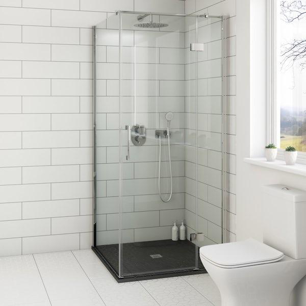 Mode Cooper Premium 8mm Easy Clean Square Shower Enclosure
