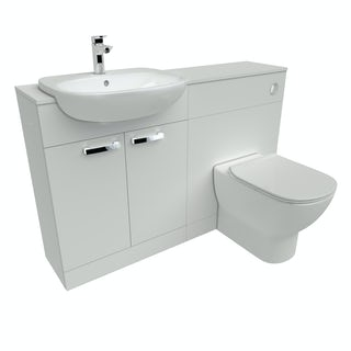 Ideal Standard Tesi white 1300 combination, toilet with Aquablade and soft close seat