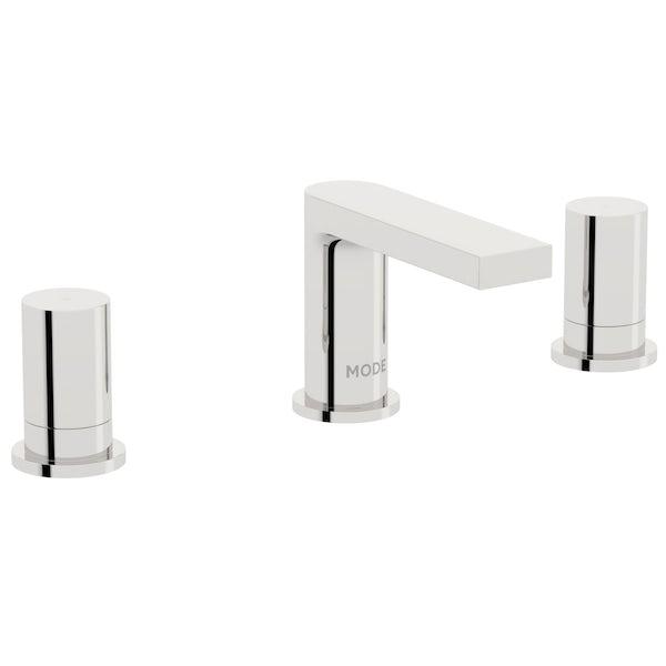 Mode Heath 3 hole basin and 4 hole bath shower mixer tap pack