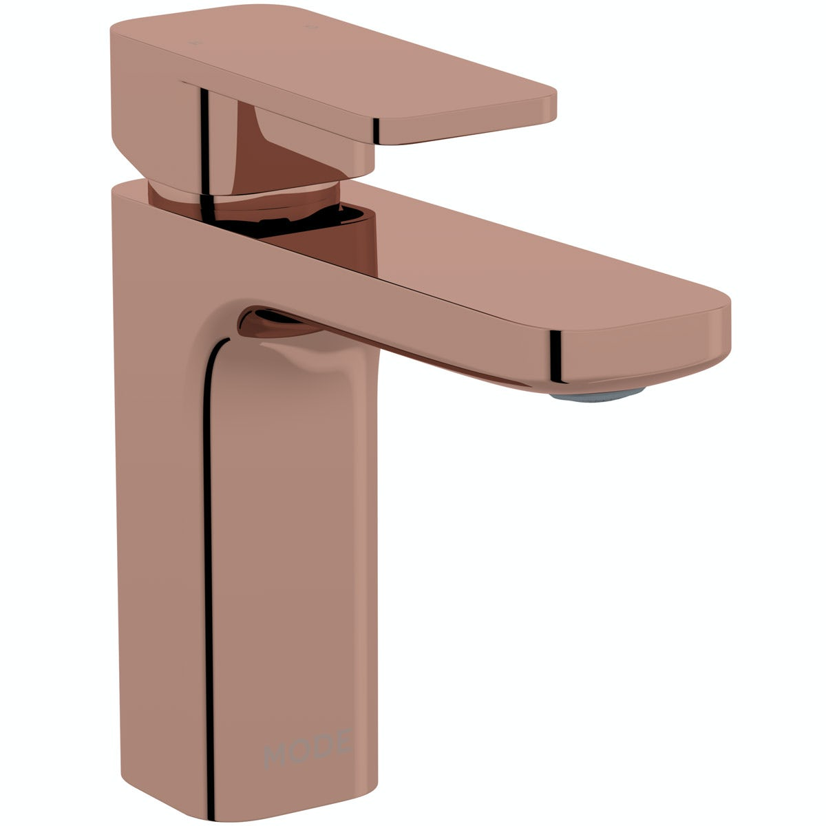 Mode Spencer square rose gold basin mixer tap