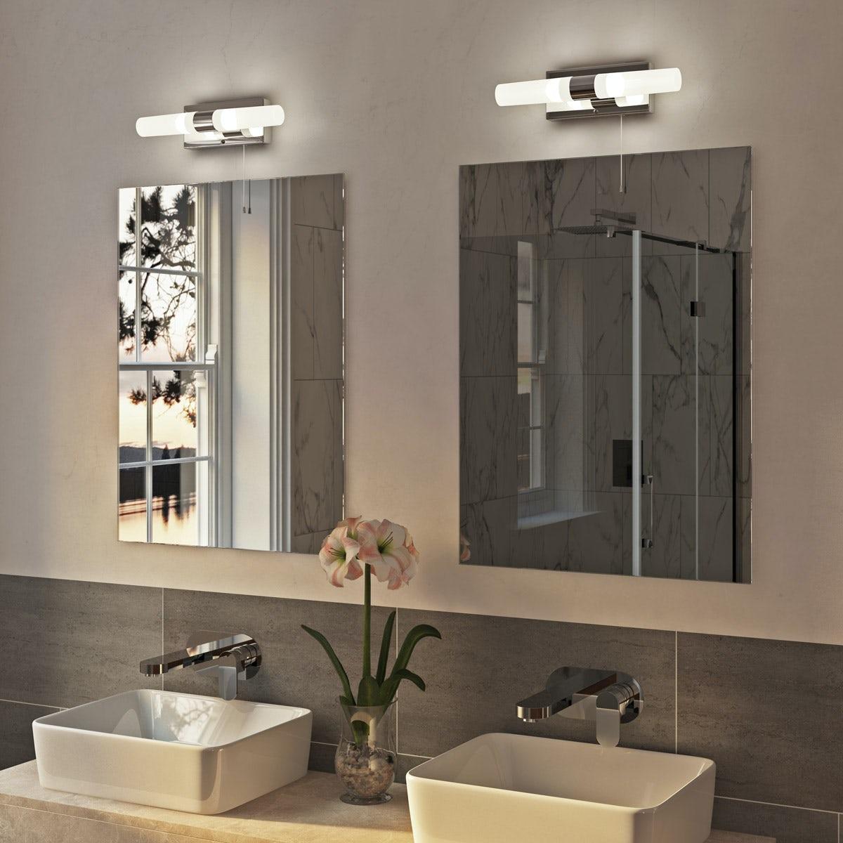 Arinna 2 Light Over Mirror Bathroom