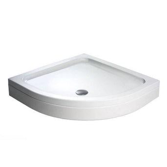 Quadrant Stone Shower Tray & Riser Kit 900 x 900