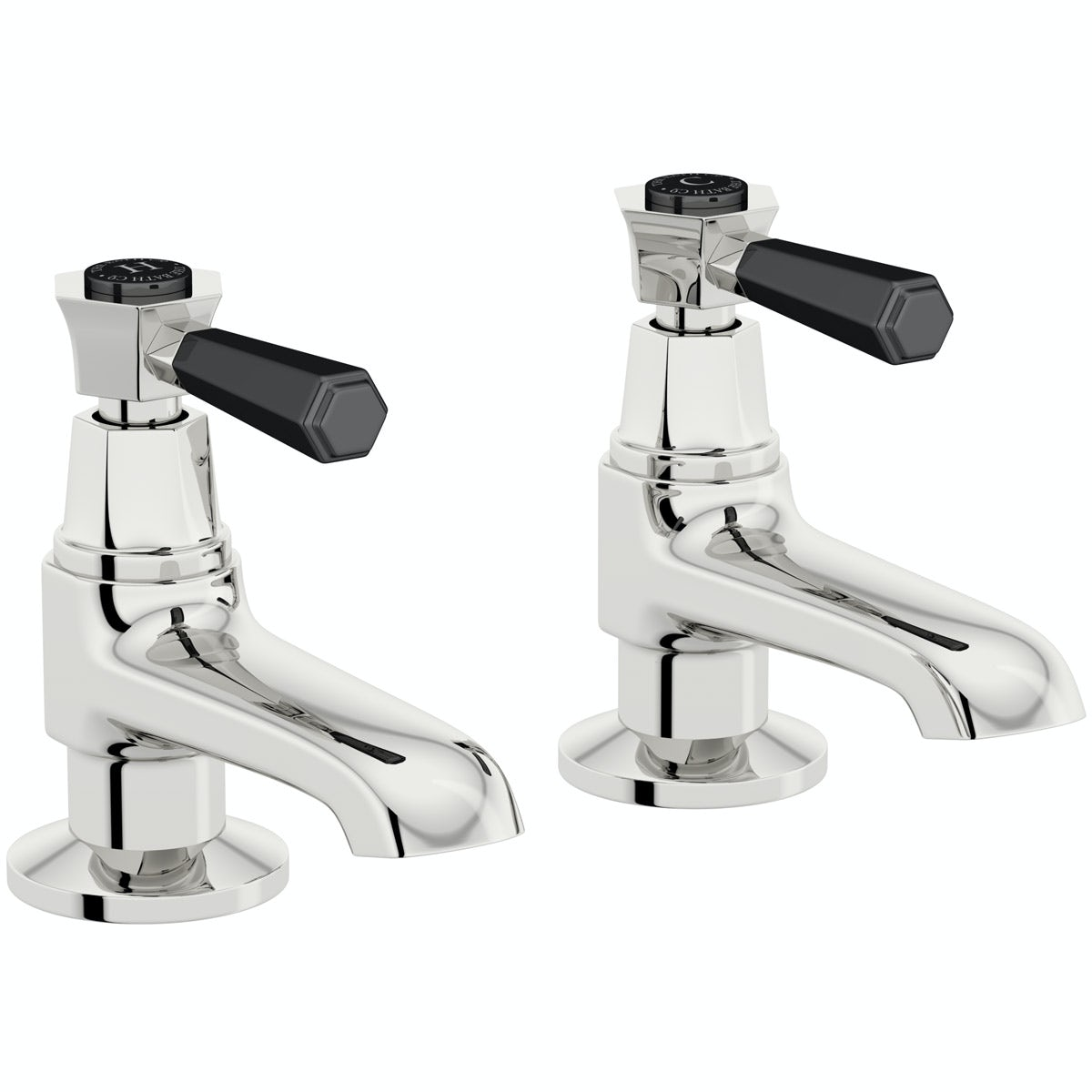 The Bath Co. Beaumont lever basin pillar taps