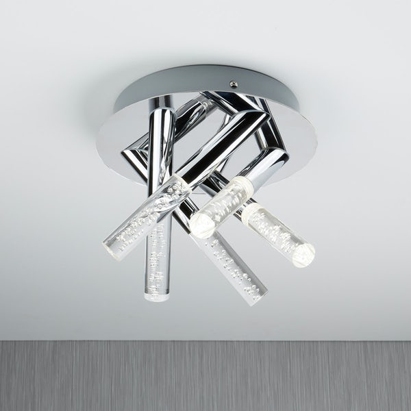 Searchlight Bubbles 5 light bathroom ceiling light