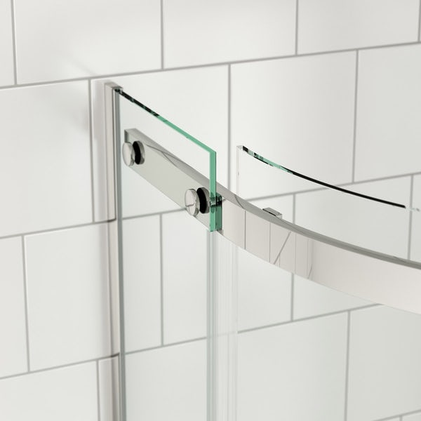 Mode Harrison 8mm easy clean quadrant shower enclosure offer pack