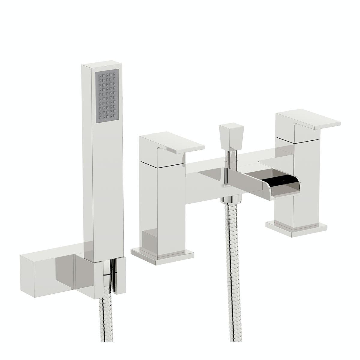 Orchard Derwent waterfall bath shower mixer tap