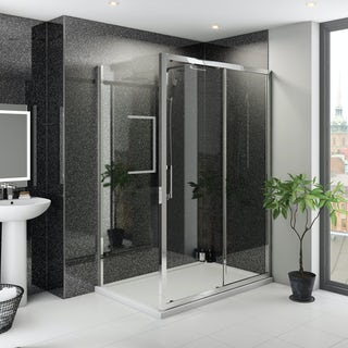 Multipanel Classic Premier Twilight unlipped shower wall panel 1200