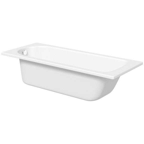 Kaldewei Saniform Plus straight steel bath with leg set 1700 x 700 with no tap holes