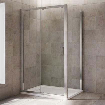 Mira Leap rectangular sliding shower enclosure
