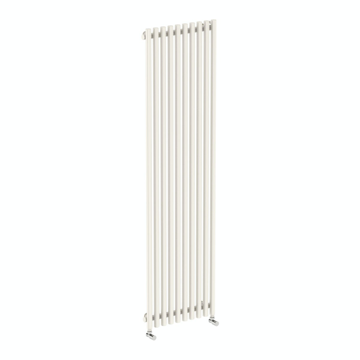 Terma Tune soft white single vertical radiator 1800 x 490