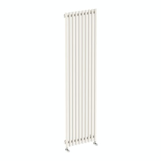 Tune soft white single vertical radiator 1800 x 490