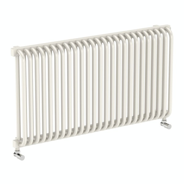 Delfin soft white horizontal radiator 540 x 1020