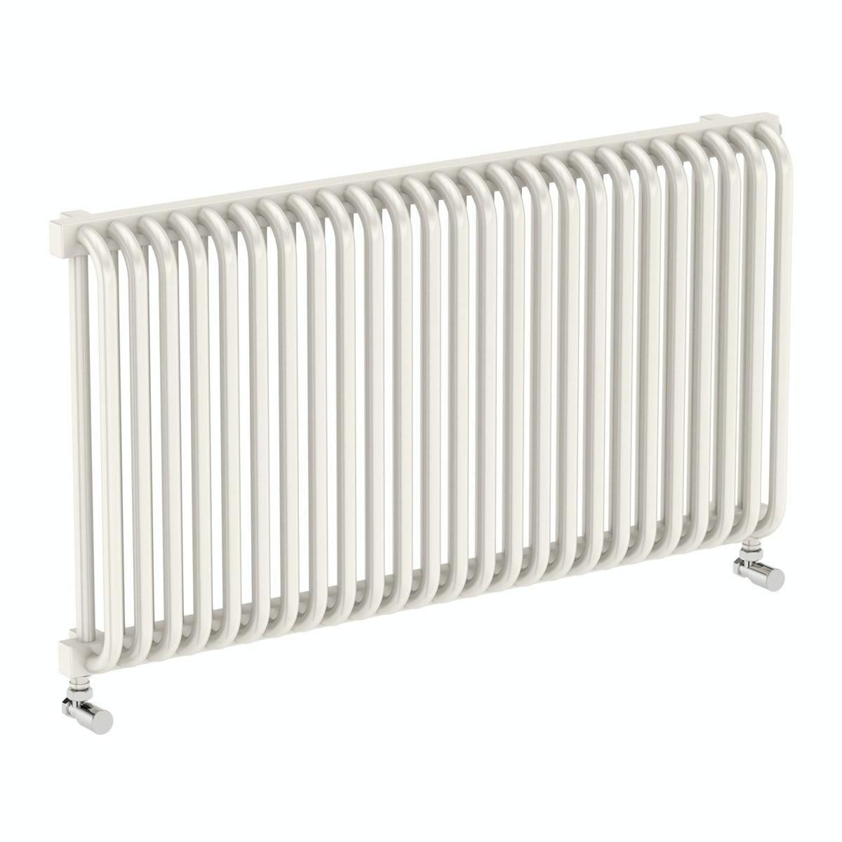 Terma Delfin soft white horizontal radiator 540 x 1020