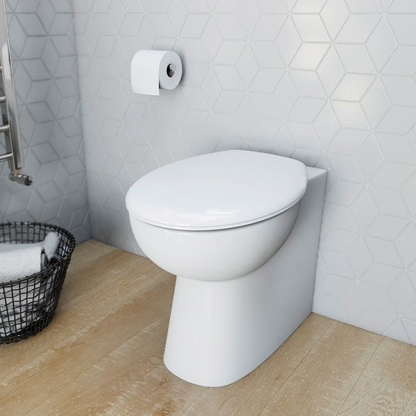 Clarity Back To Wall Toilet Inc Seat and Concealed Cistern