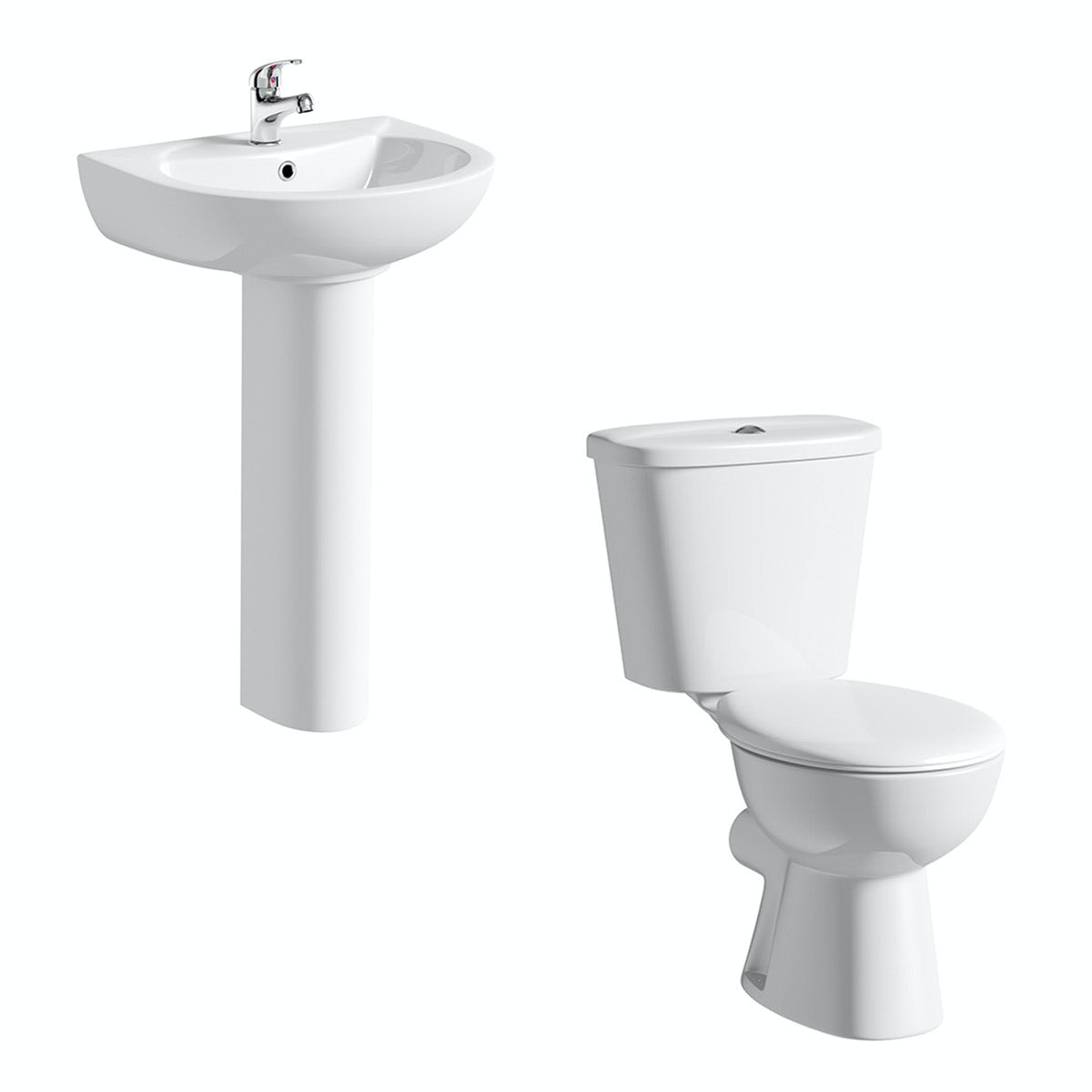 Clarity Close Coupled Toilet And Basin Suite Victoriaplum Com