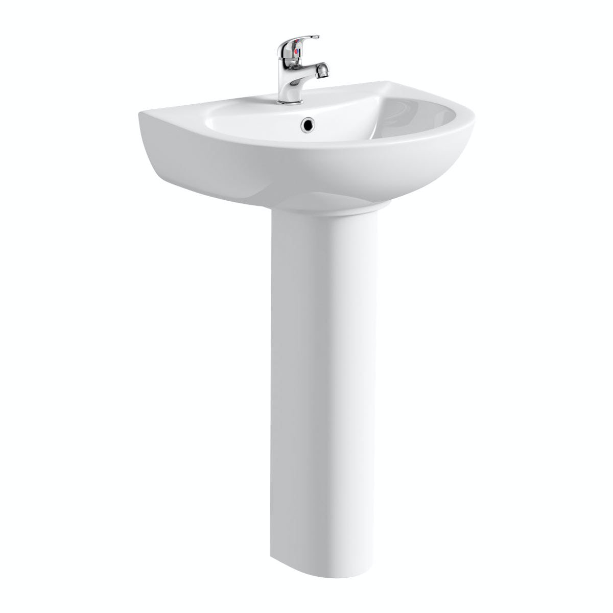 Clarity Basin and Full Pedestal