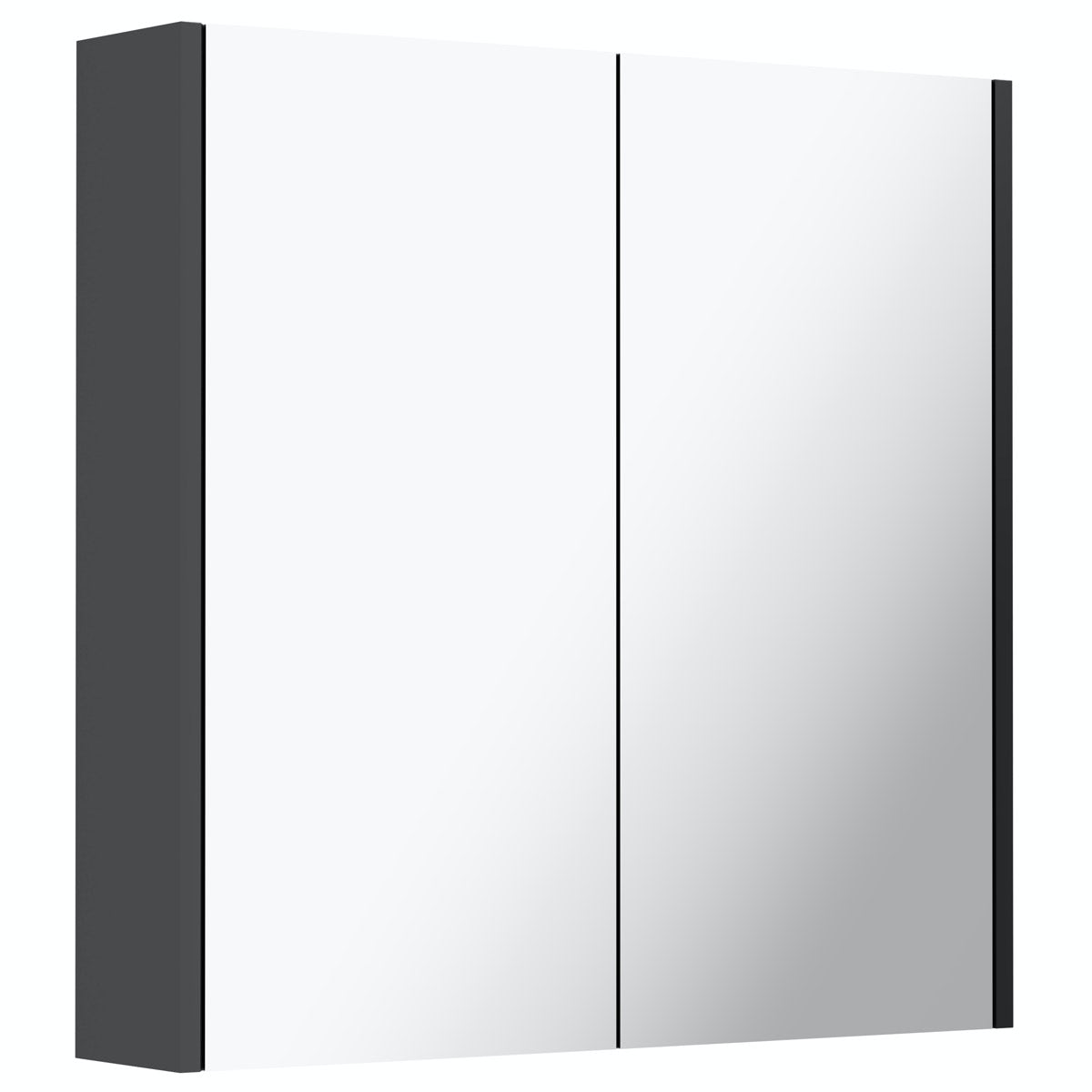 Mode Tate anthracite mirror cabinet 650mm