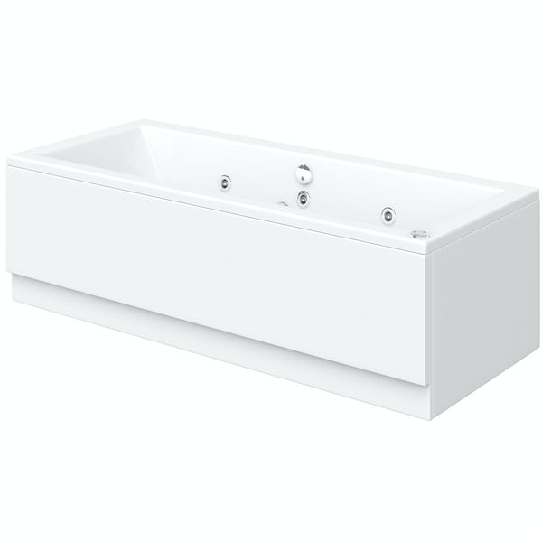 Chelsea 1800 x 800 double end 6 jet whirlpool bath