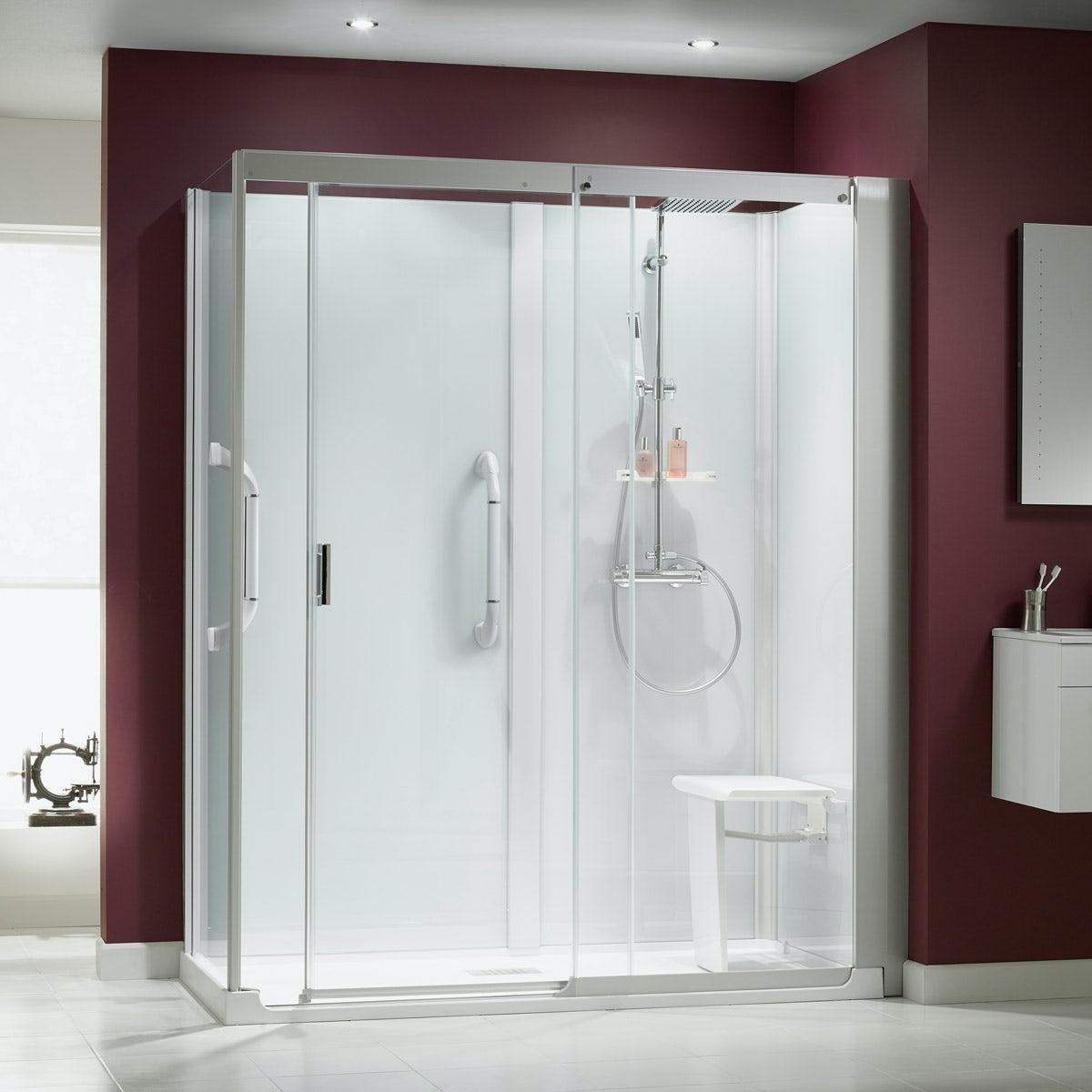 Kinemagic Serenity Corner Shower Cabin Victoriaplum Com