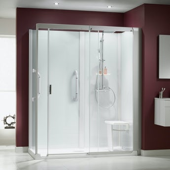 Kinemagic Serenity corner shower cabin