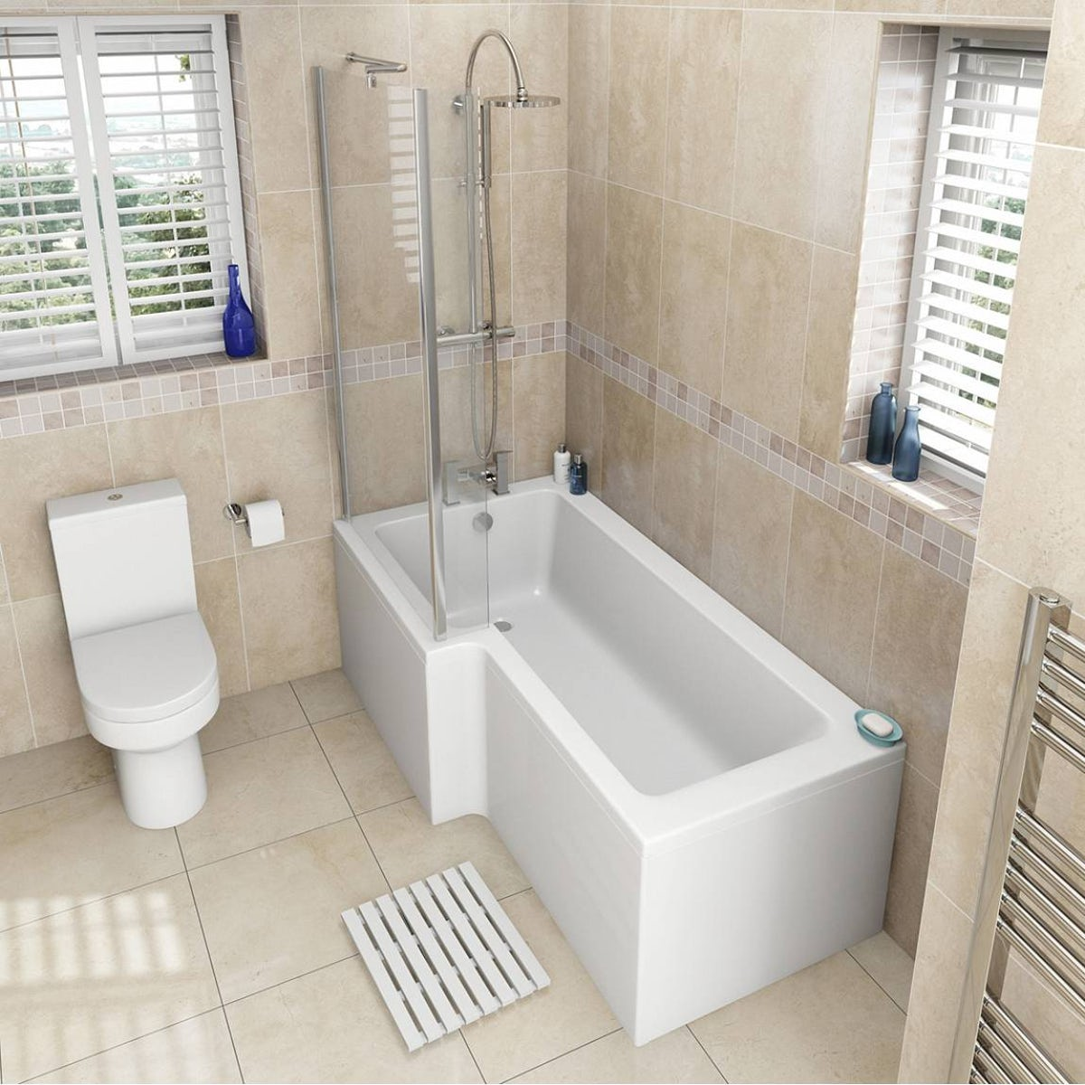 orchard oakley bathroom suite with left handed l shaped shower oakley bathroom suite with boston 1700 x 850 shower bath lh