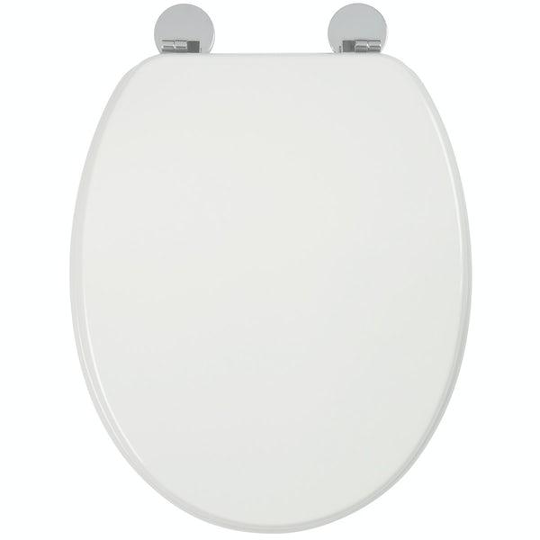 Croydex Kielder flexi fix toilet seat
