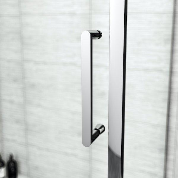 Mode Austin premium 8mm hinged easy clean rectangular shower enclosure