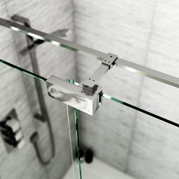 Mode Carter premium 8mm easy clean left handed sliding shower door