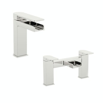 Mode Freemont basin and bath mixer tap pack