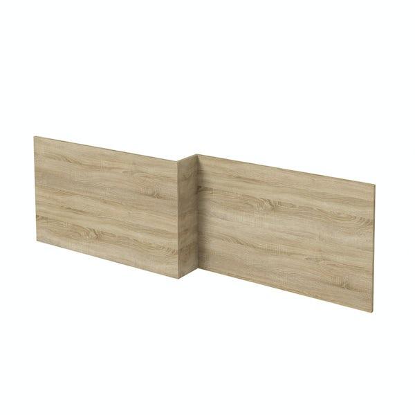 Wye oak boston shower bath panel pack 1700 x 700mm