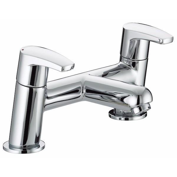 Bristan Orta basin tap and bath mixer tap pack