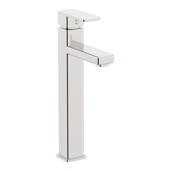 Quartz High Rise Basin and Bath Shower Mixer Pack