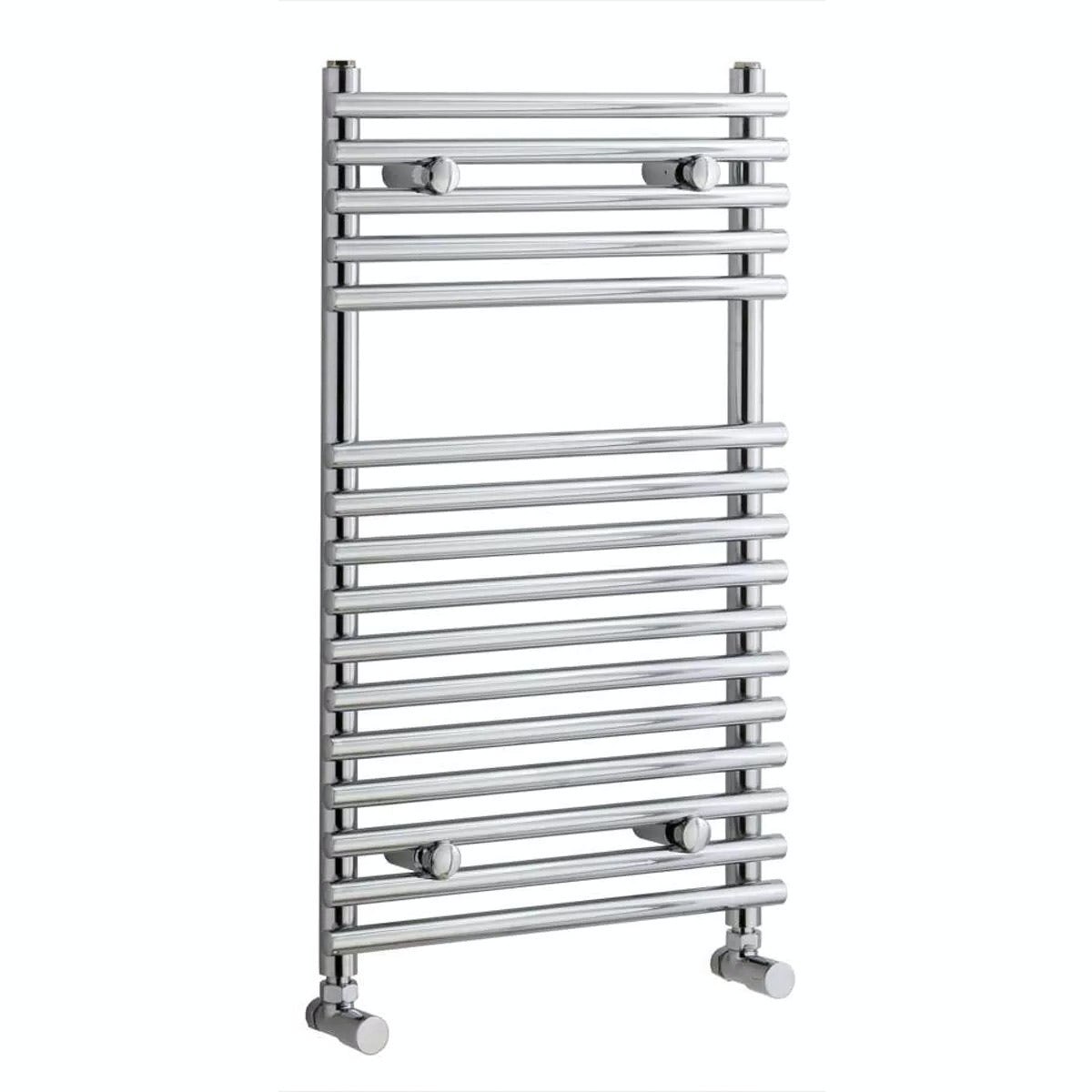 Orchard Derwent heated towel rail 750 x 450 offer pack