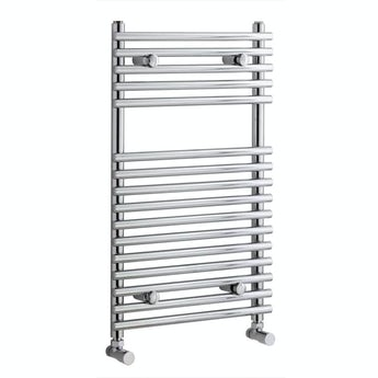 Tubular heated towel rail 750 x 450