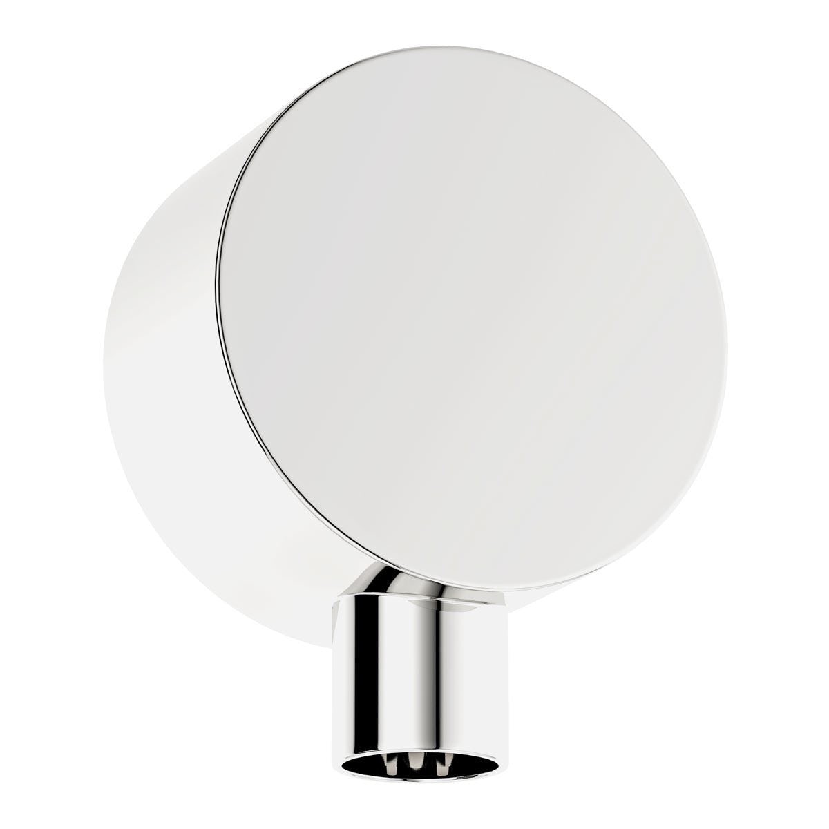 Mode Contemporary round brass wall shower outlet