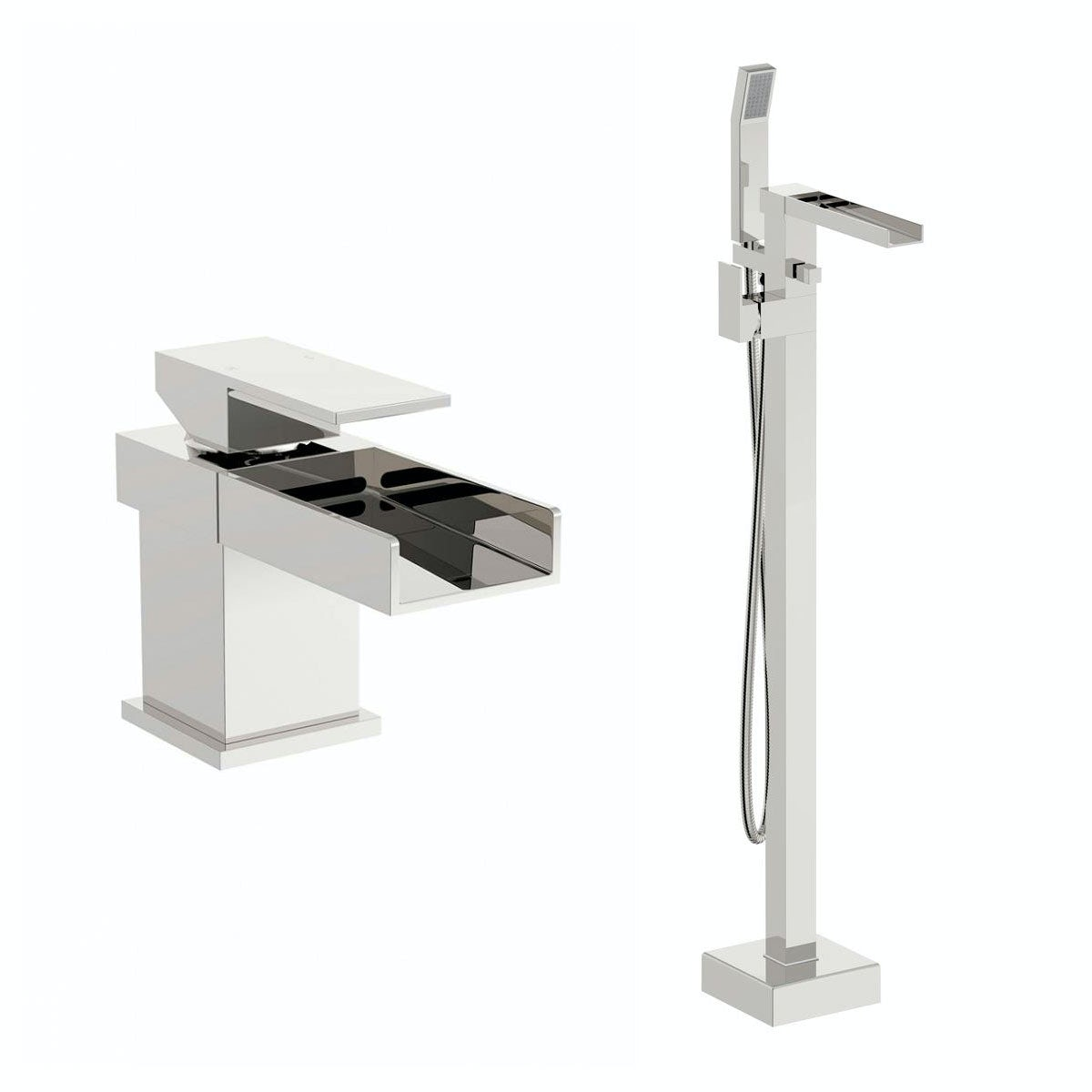 mode carter basin mixer and bath shower standpipe pack free delivery carter basin mixer and bath shower standpipe pack