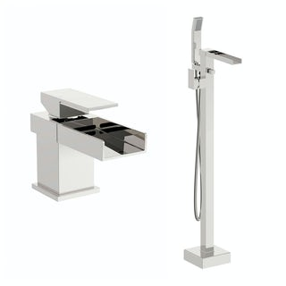 Carter Basin Mixer and Bath Shower Standpipe Pack