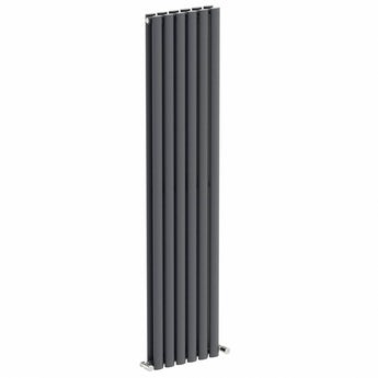 Lava double vertical radiator 1600 x 360