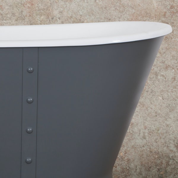 Belle de Louvain Barocci smoke grey bath