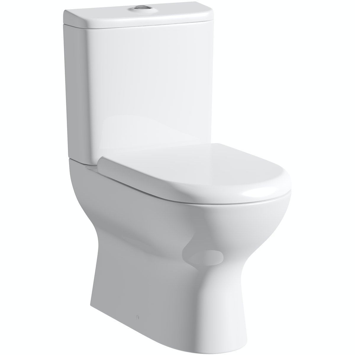 Mode Heath close coupled toilet with soft close toilet seat
