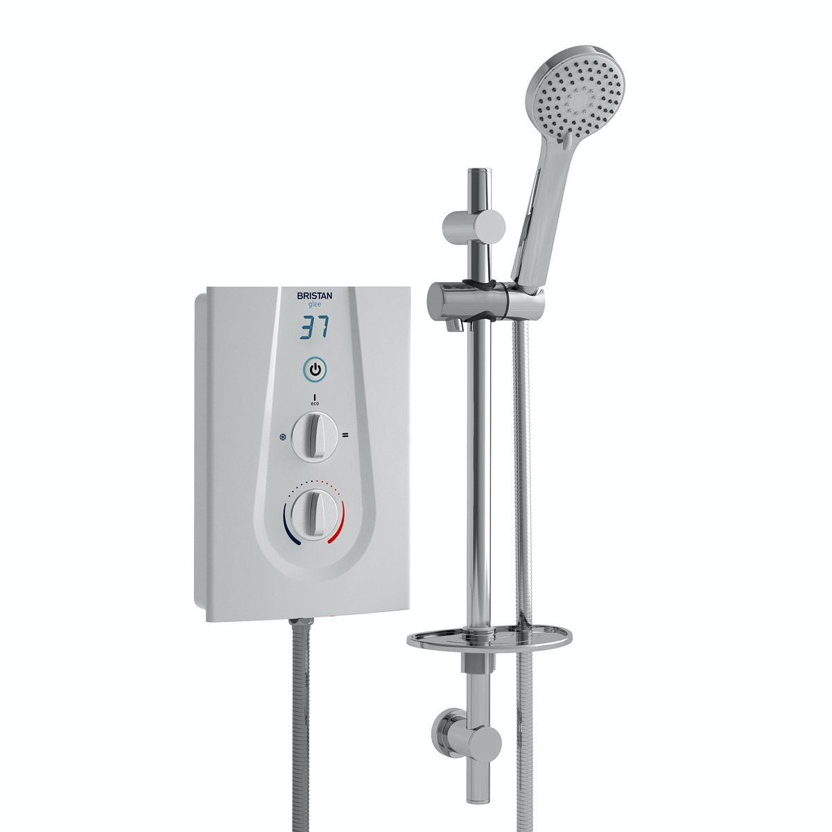 Bristan Glee 10.5kw electric shower white